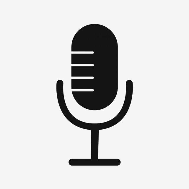 Vector Micro Icone Micro Microphone L Enregistrement Png Et Vecteur Pour Telechargement Gratuit Microphone Icon Mic Logo Microphone Drawing