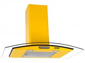 Coifa de Parede Fogatti 80cm com Vidro Curvo - 3 Velocidades CVC Slim 80