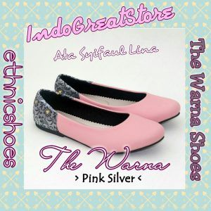 The Warna Shoes – Pink Silver