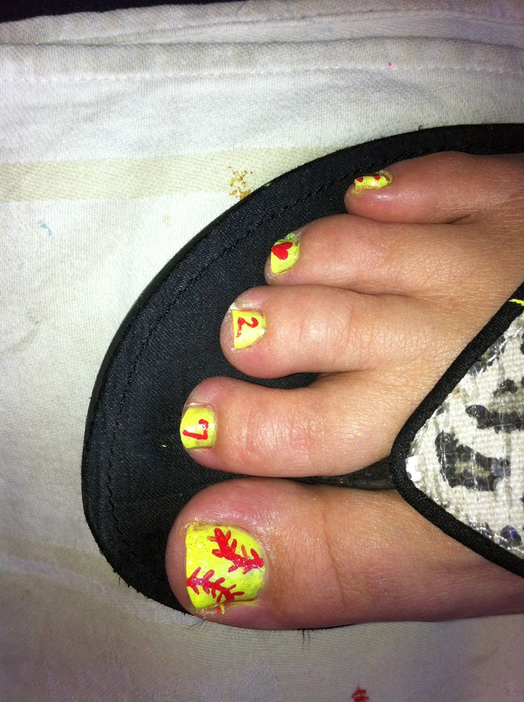 Softball nail art - 15 Best Softball Finger Nails Images On Pinterest Softball Nails
