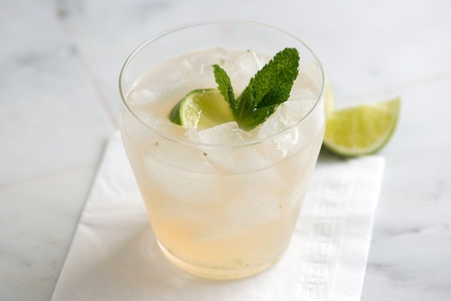 Southside Cocktail Recipe from www.inspiredtaste.net #cocktail
