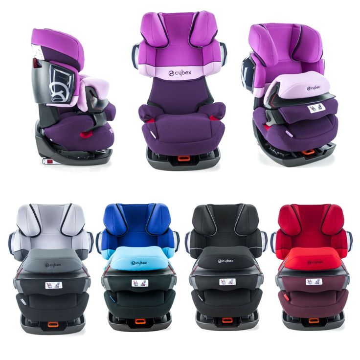 Cybex Pallas 2-Fix Convertible Child Car Seat with Impact Shield 9-36kg 20-79lbs