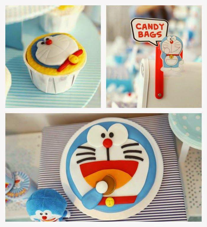 Doraemon First Birthday Theme for girls