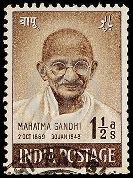 Sello, India / Gandhi