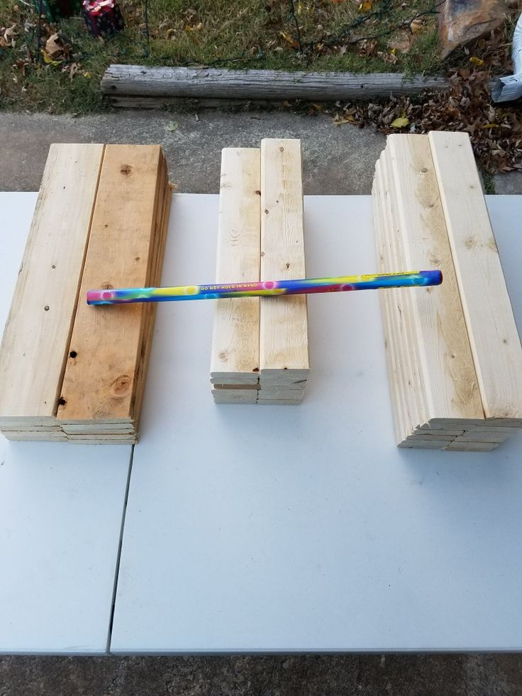 Raw materials for Roman Candle Racks