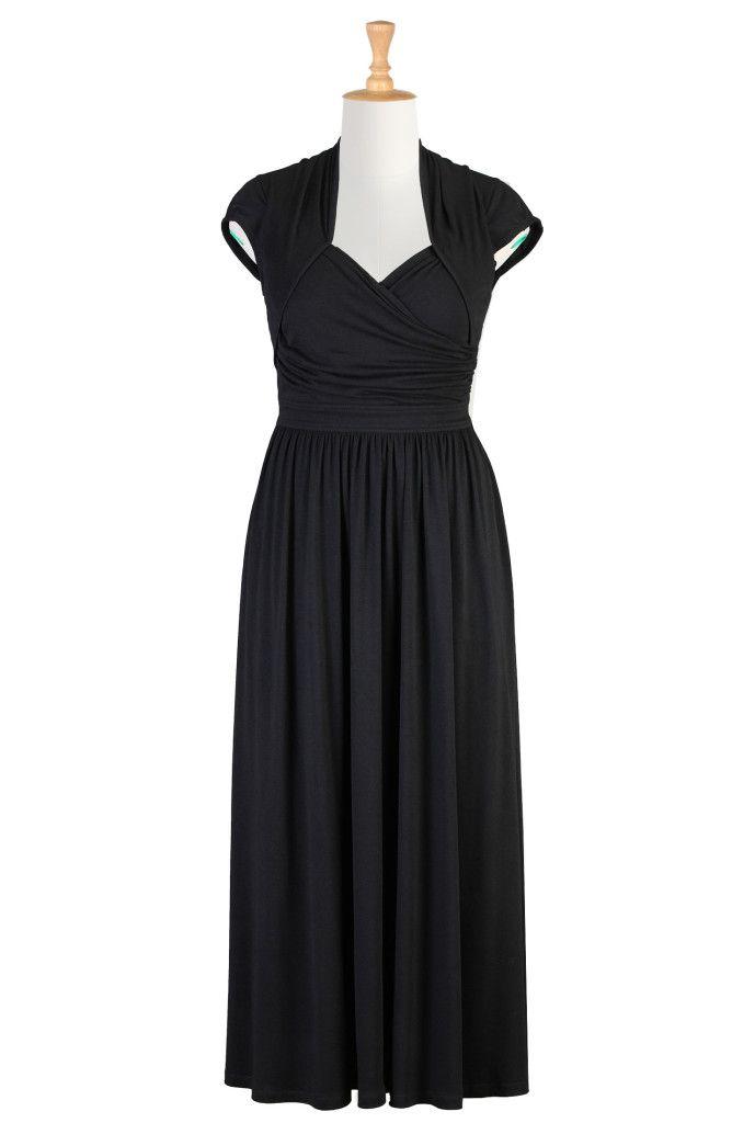 47 best dresses images on pinterest bridal gowns short for Jersey knit wedding dress