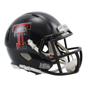 NCAA Texas Tech Red Raiders Speed Mini Helmet by Riddell. Save 12 Off!. $22.95. The New Riddell Texas Tech Red Raiders Speed Replica Mini Helmet.