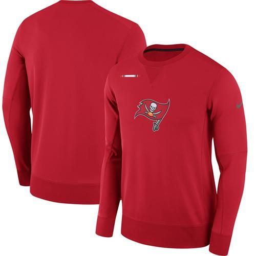 9bbe6807 Men's Tampa Bay Buccaneers Nike Red Sideline Team Logo Performance ...