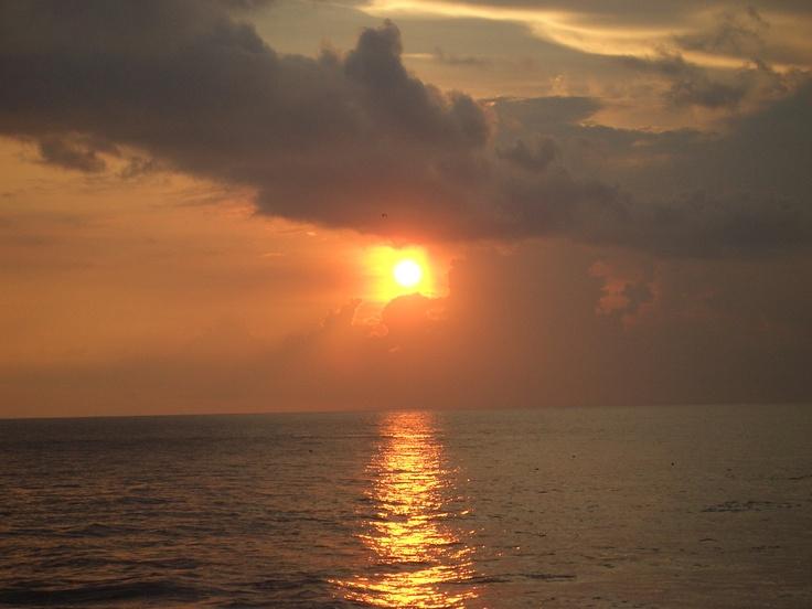 Sunset @Kuta beach, Bali, Indonesia
