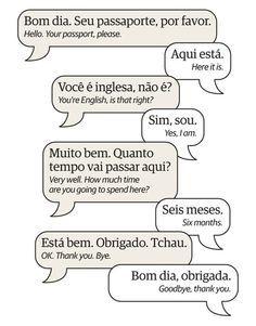 Learn Brazilian Portuguese: phrases and vocabulary