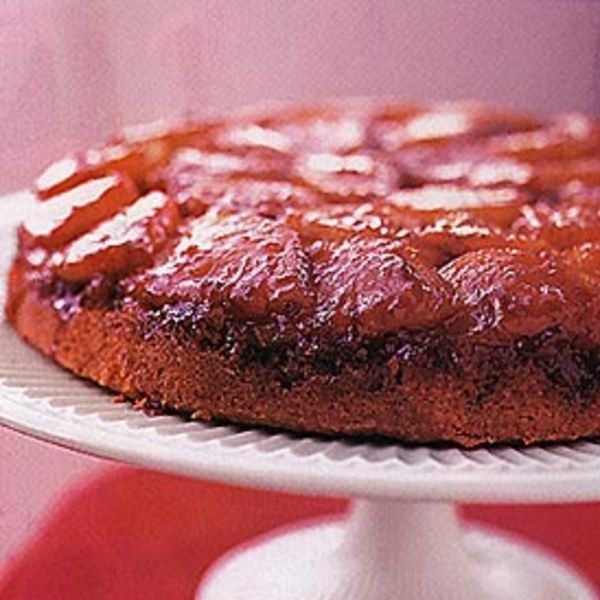 This cake, thought to have first appeared in the 1920s, has had such names as pineapple glacé and pineapple skillet cake.