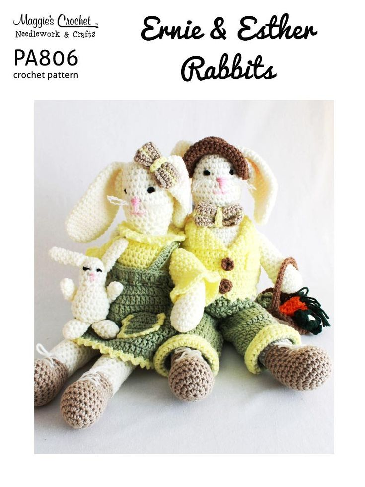 Easter Crochet Patterns For Beginners : 1556 best images about HOLIDAYS - Easter Food, Decorations ...