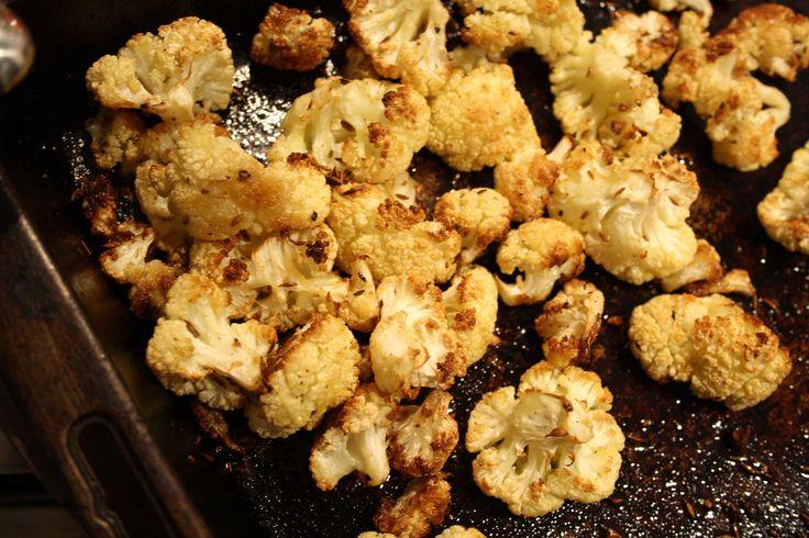 spiced roast cauliflower