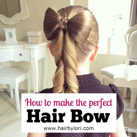 How to make the perfect Hair Bow - Sweethearts Hair Design