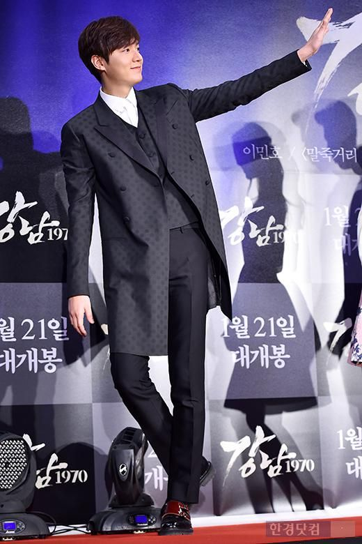 Kim Woo Bin, Jung Il Woo, Park Shin Hye, and many more attend star-studded Gangnam Blues premiere