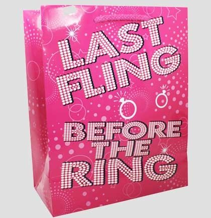 Last Fling Bachelorette Party Gift Bag | Bachelorette Party Supplies