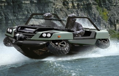Amphibious Military Vehicle ~ Awesome ;)