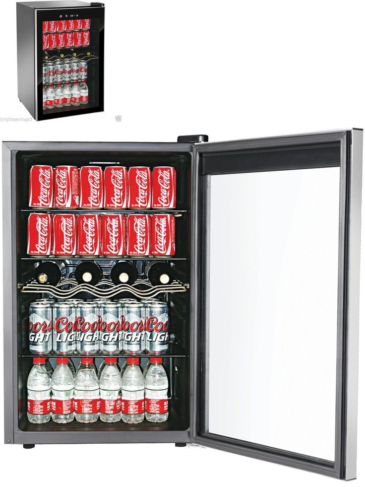 Food And Drink: New 150 Can Beverage Refrigerator Mini Wine Fridge Soda Drinks Bar Cooler -> BUY IT NOW ONLY: $174.99 on eBay!