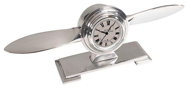 Propeller Desk Clock midcentury-desk-accessories
