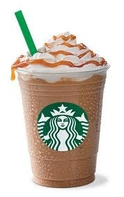 Art Starbucks Caramel Frappuccino Light - Make it at home! dining-in