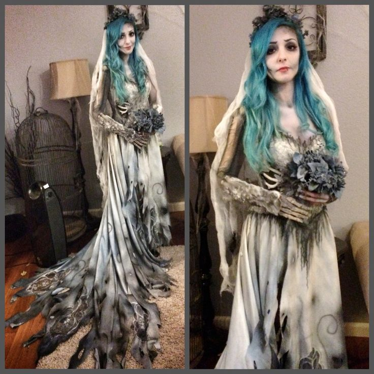 Corpse Bride Makeup and costume by Nicole Chilelli