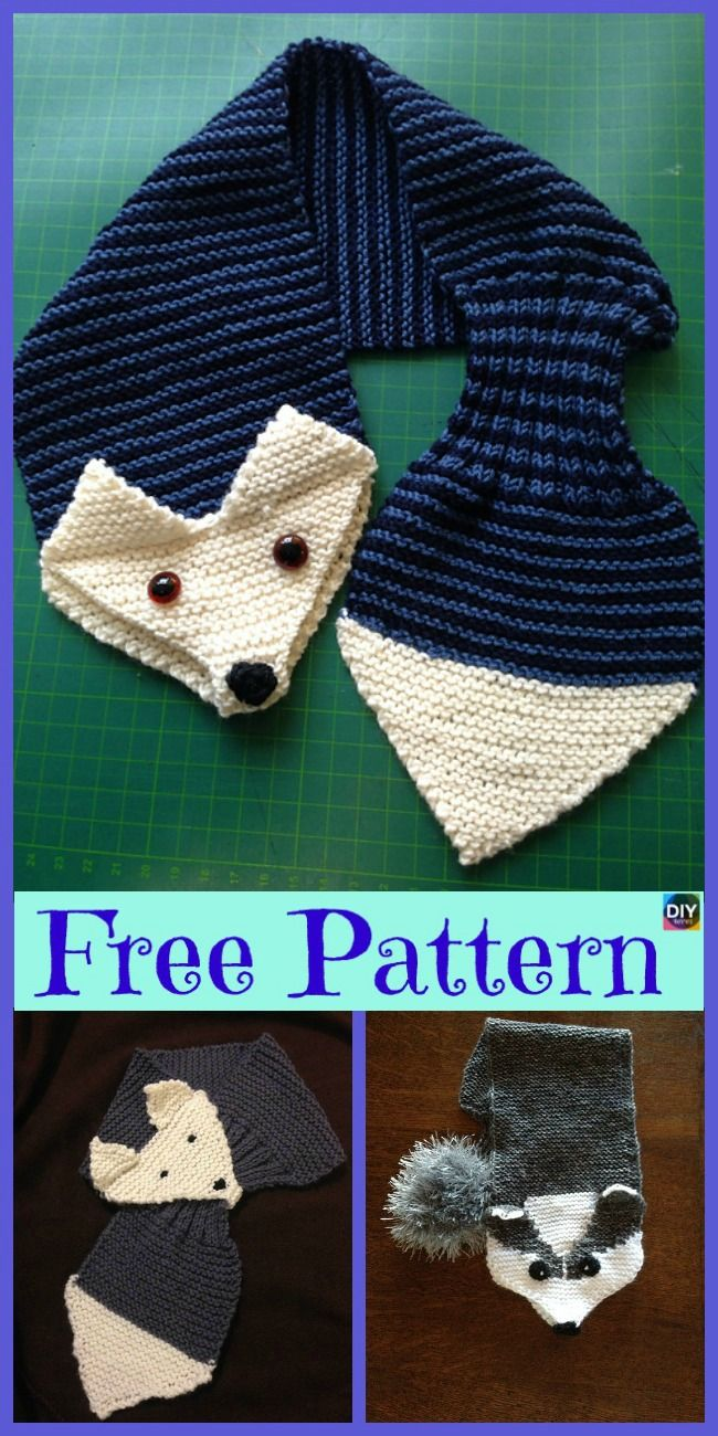5 Cutest Knitting Fox Scarf Free Patterns Needle Crafts Fox