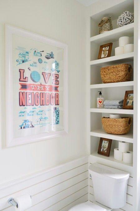 Shelves above toilet   – For the Home – #Home #Shelves #toilet   – most beautifu…   – most beautiful shelves