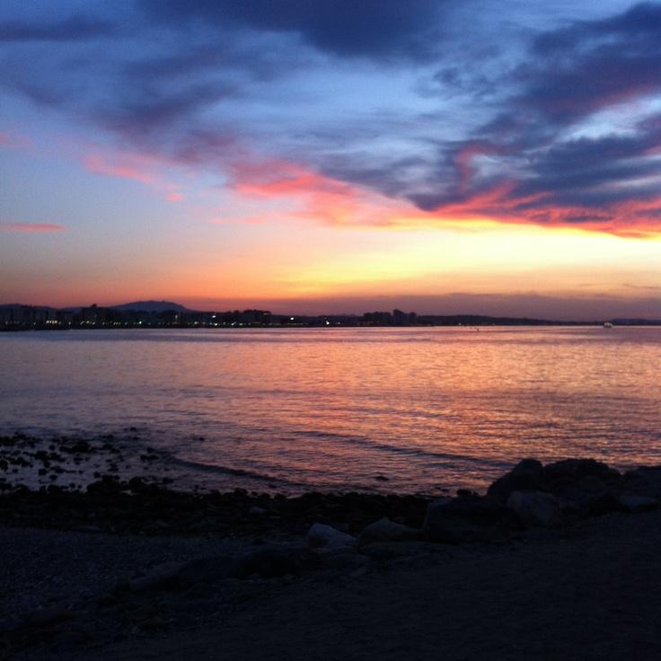 Cattolica's sunset