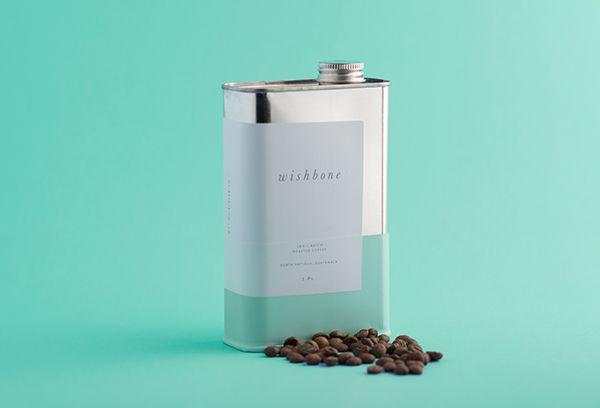 Wishbone Brew: Coffee Packaging on Behance