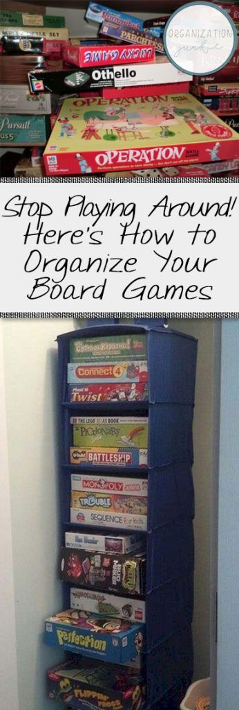 Stop Playing Around! Here's How to Organize Your Board Games