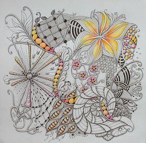 Beautiful zentangle ideas at Studio ML: Zentangles