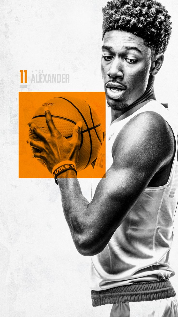 Tennessee Basketball '17-18 on Behance