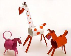 Super Fun Artisanat enfants: papier hygiénique en rouleau artisanat pour les enfants