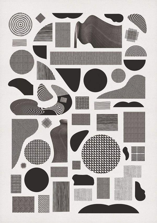 — Graphic Design / Pattern Alphabet. | momogoods. — Designspiration