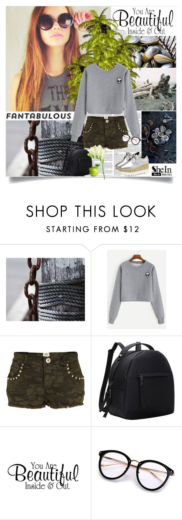 Shein by reka97 on Polyvore featuring River Island