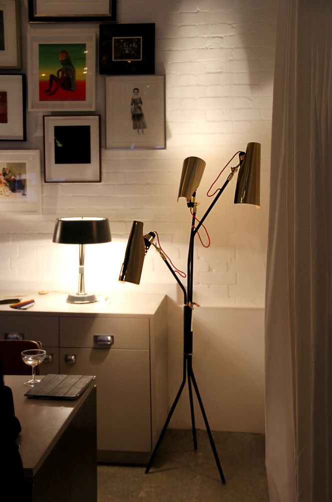The latest TRENDZINE issue is out and this time it features an amazing article on DelightFULL's Jackson floor lamp