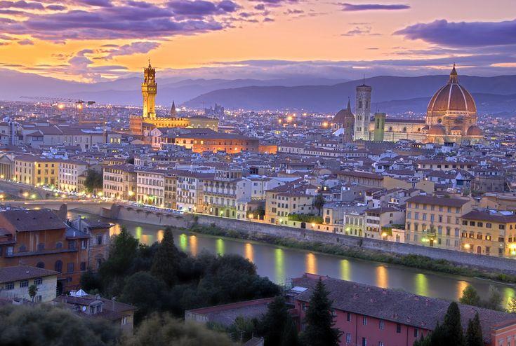 Сиреневый свет над Италией