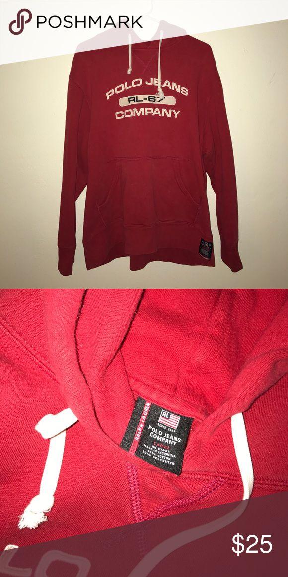 VINTAGE Ralph Lauren polo pullover VINTAGE polo Hoodie Polo by Ralph Lauren Tops Sweatshirts & Hoodies