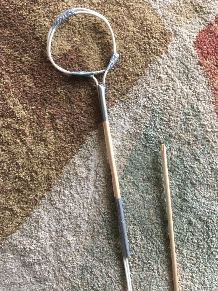 Create the arm bones by using a wooden dowel. Cut the dowel to length of your arm bones and tape to the wire. This prevents the wire from bending where you don't want it to bend. Make sure to leave space at the elbow for the arm to bend.