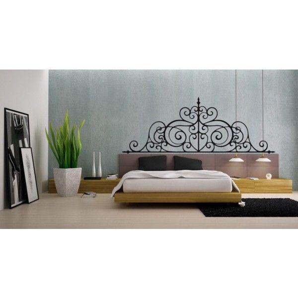 37 best Headboard Wall Decals images on Pinterest | Bedrooms, Vinyl ...
