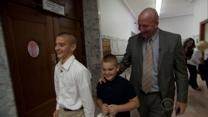 Detective goes from man's man to family man - this is such a great story.