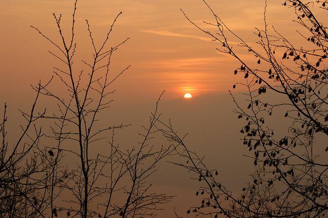 #Sunset from #Belvedere, #Perledo