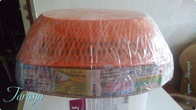 Мастер-класс Картонаж Плетение Форма для плетения хлебниц Картон Картон гофрированный фото 6