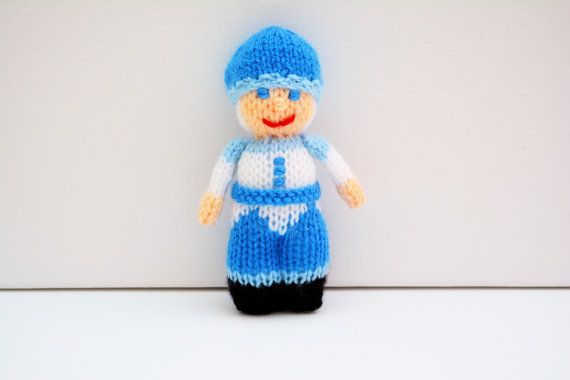 Jack Frost Christmas Doll Christmas by EdithGraceDesigns on Etsy