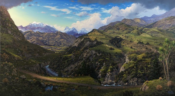 paintings of mid canterbury - Google Search