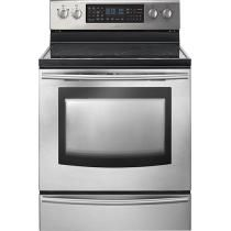 """#Roboform #MyDearSantaWishList - Samsung - 30"""" Self-Cleaning Freestanding Double Oven Electric Convection Range - Stainless-Steel"""