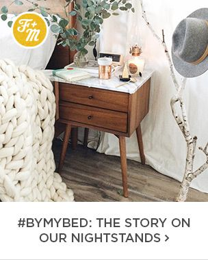 Front + Main: #BYMMYBED: The Story On Our Nightstands