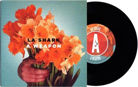 La Shark | A Weapon album artwork design