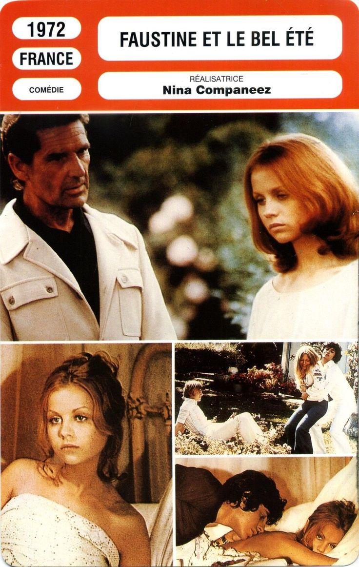 """2. """"Faustine et le bel été"""" (1972); regia: Nina Companeez (fiche technique)"""