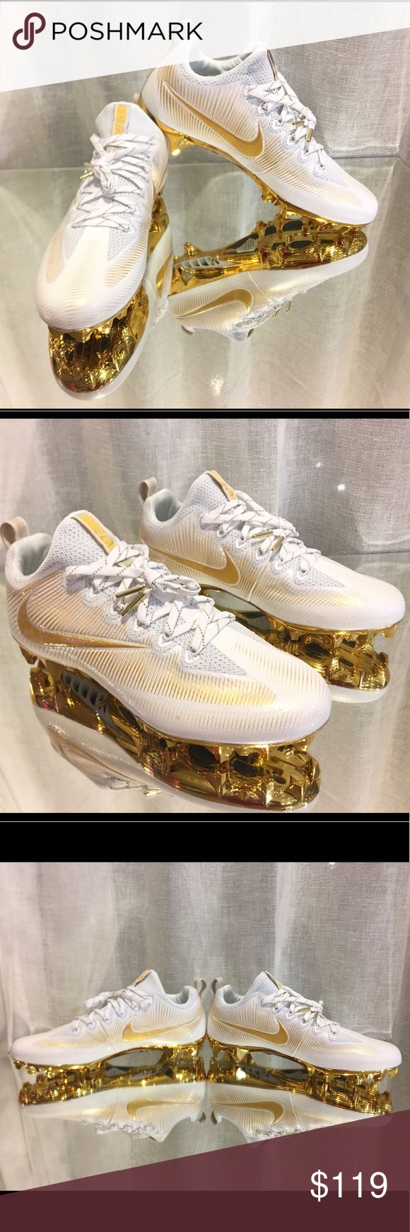 Nike Vapor Untouchable Jewels Lacrosse Football NWOB Nike Vapor Untouchable Jewels Lacrosse Football Cleats 833516-170 Men's Size 9 Nike Shoes Athletic Shoes